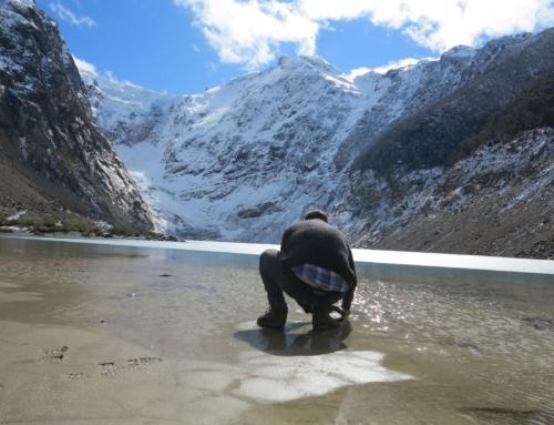 Trabajo de promoción en el Parque Nacional Los Alerces